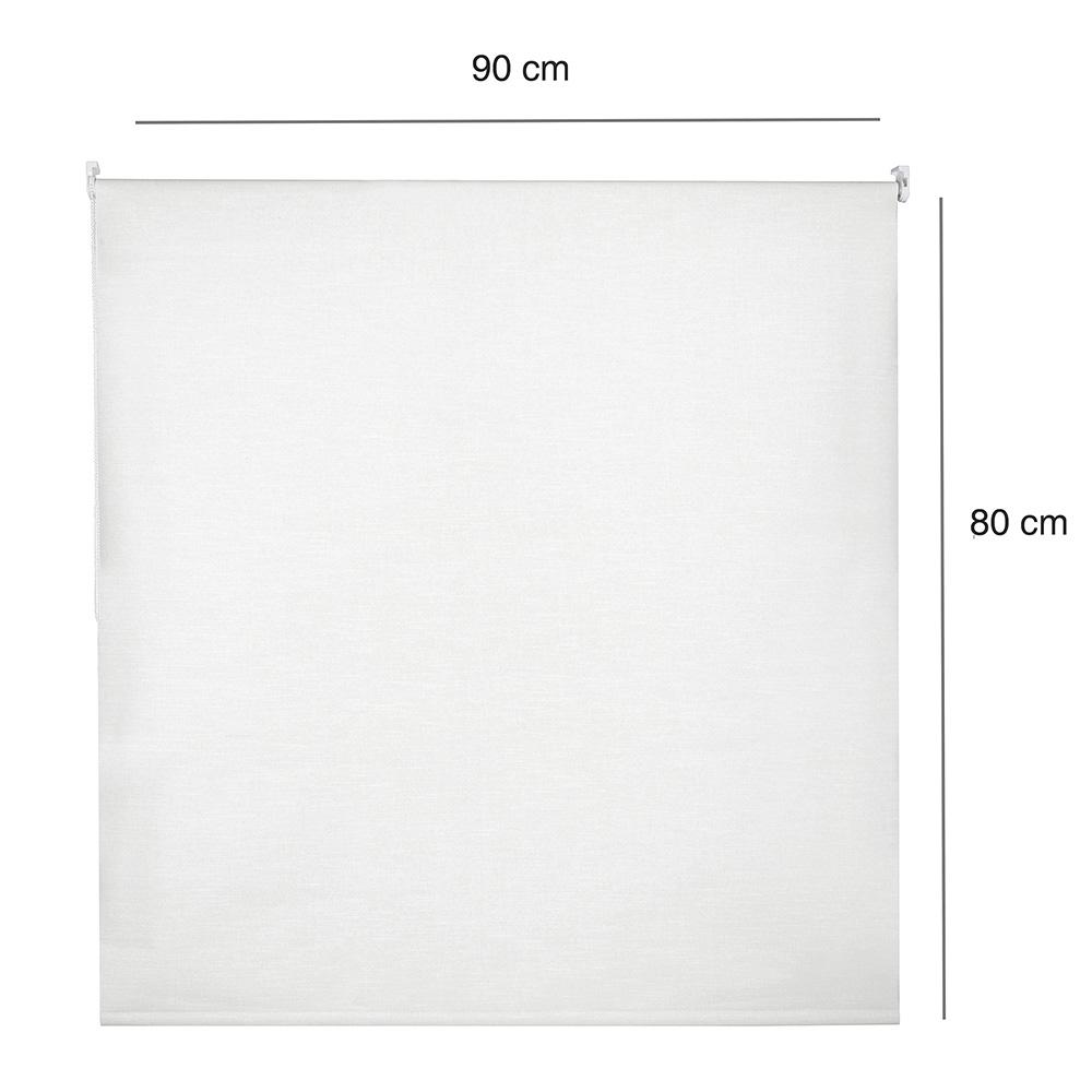 Persiana Rolô Blackout Nouvel -  0,90x0,80m - Branca