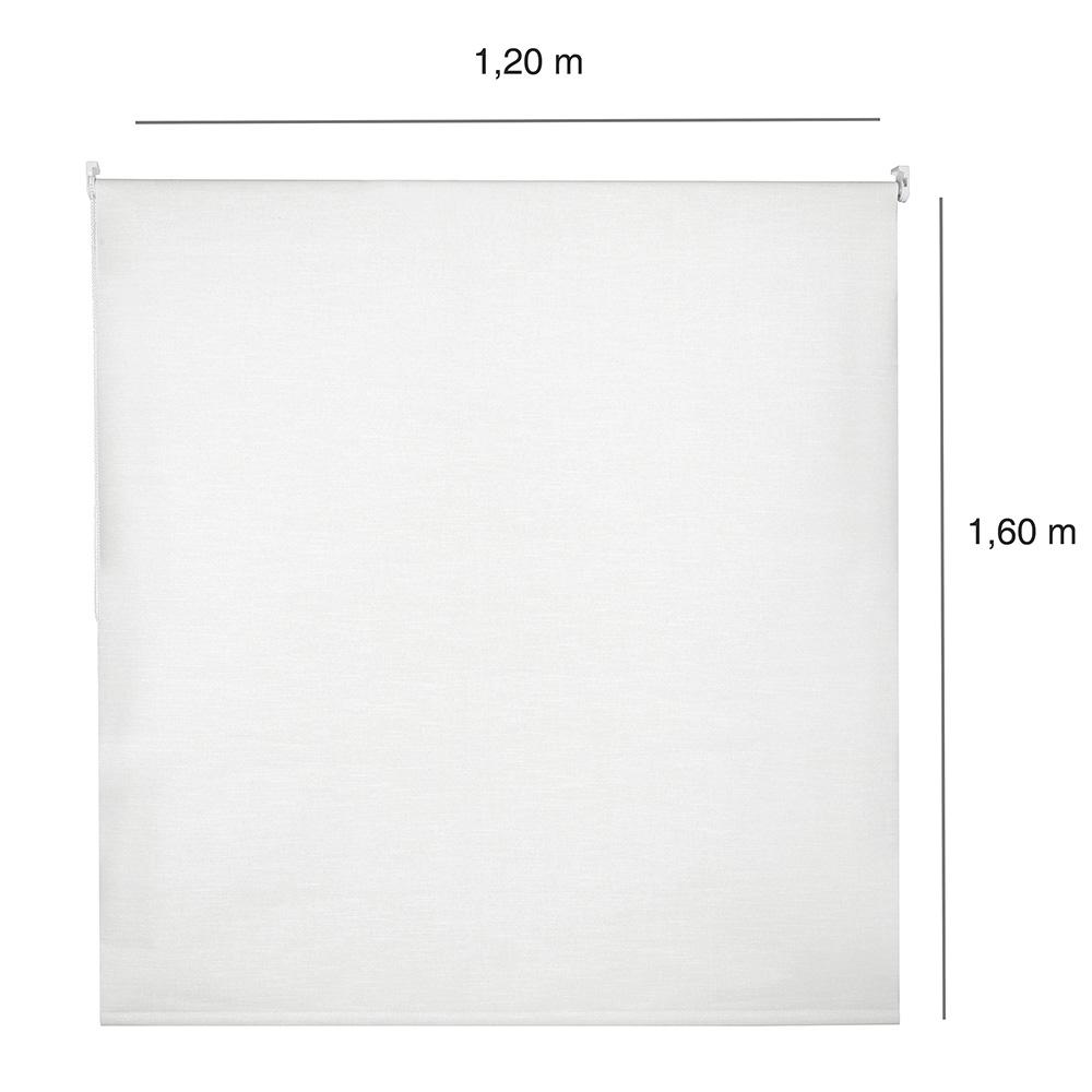 Persiana Rolô Blackout Nouvel - 1,20x1,60m - Branca