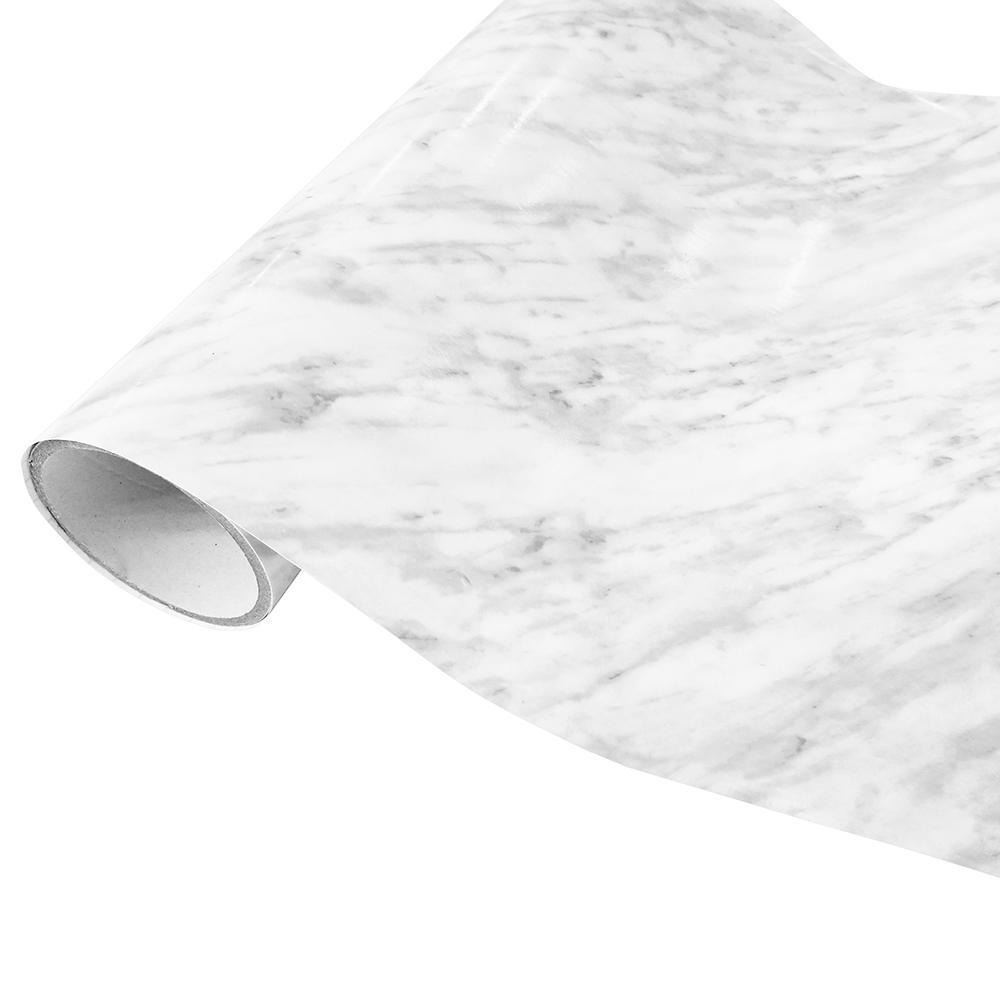 Revestimento Autoadesivo Rolo com 2m - Mármore Cinza Claro