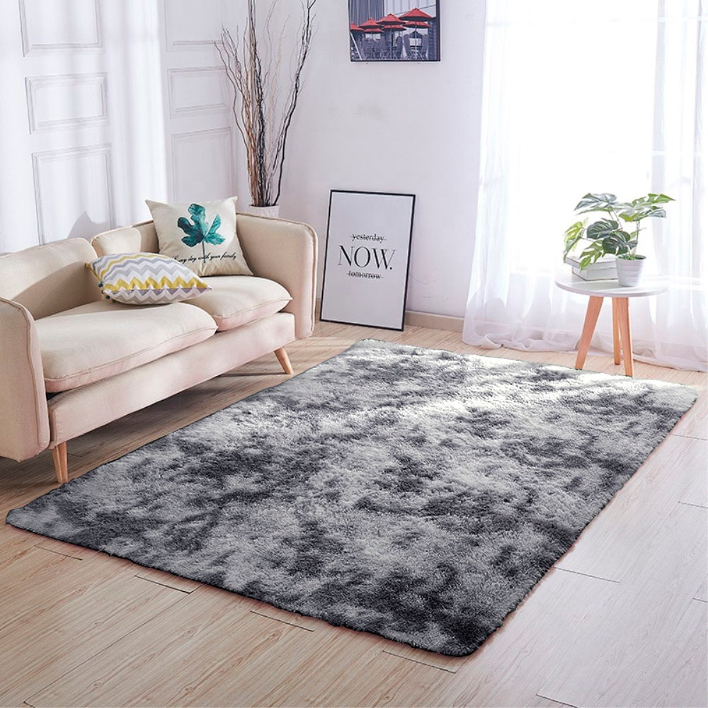 Tapete Print 1,40 x 2,00m Tie Dyed Cinza