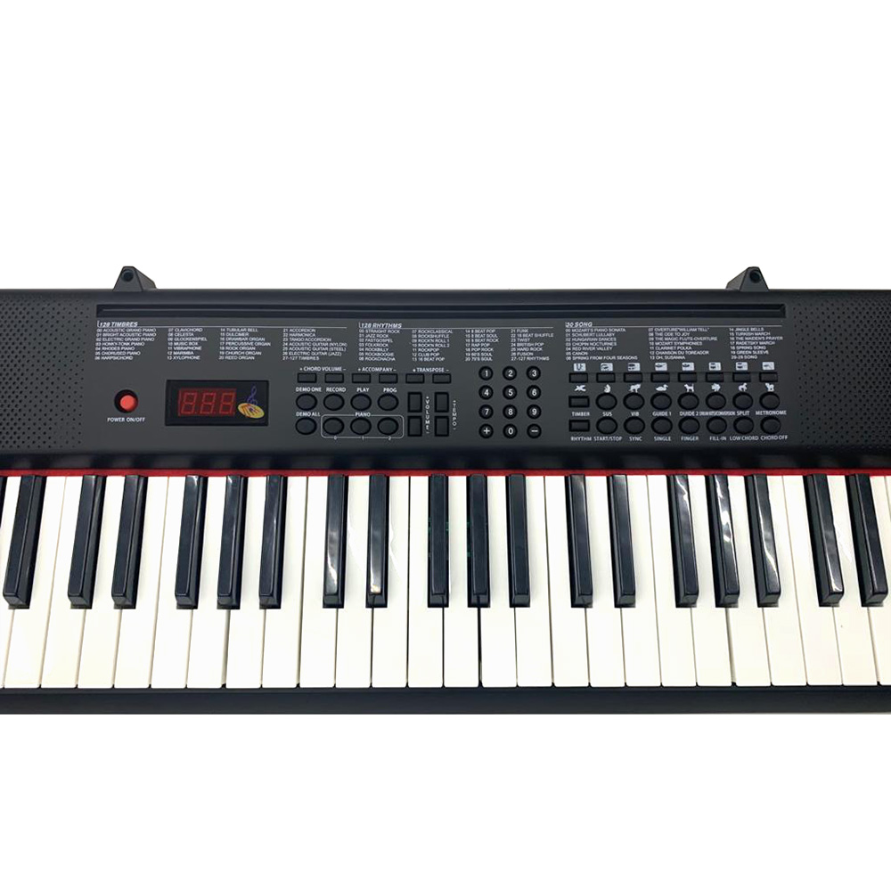 Teclado Musical Queen´s 61 teclas Semi Profissional Max