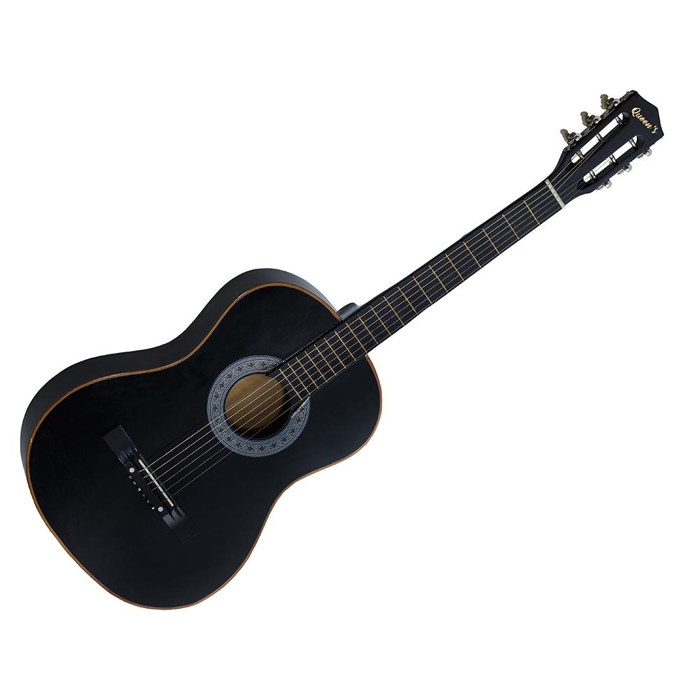 Violão Queen's Preto D137516 para Iniciante