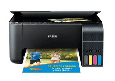 Impressora Multifuncional EPSON Tanque de Tinta L3150 C11CG86302 Wi-Fi