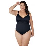 Maiô Body Plus Size com Alça Dupla Agridoce