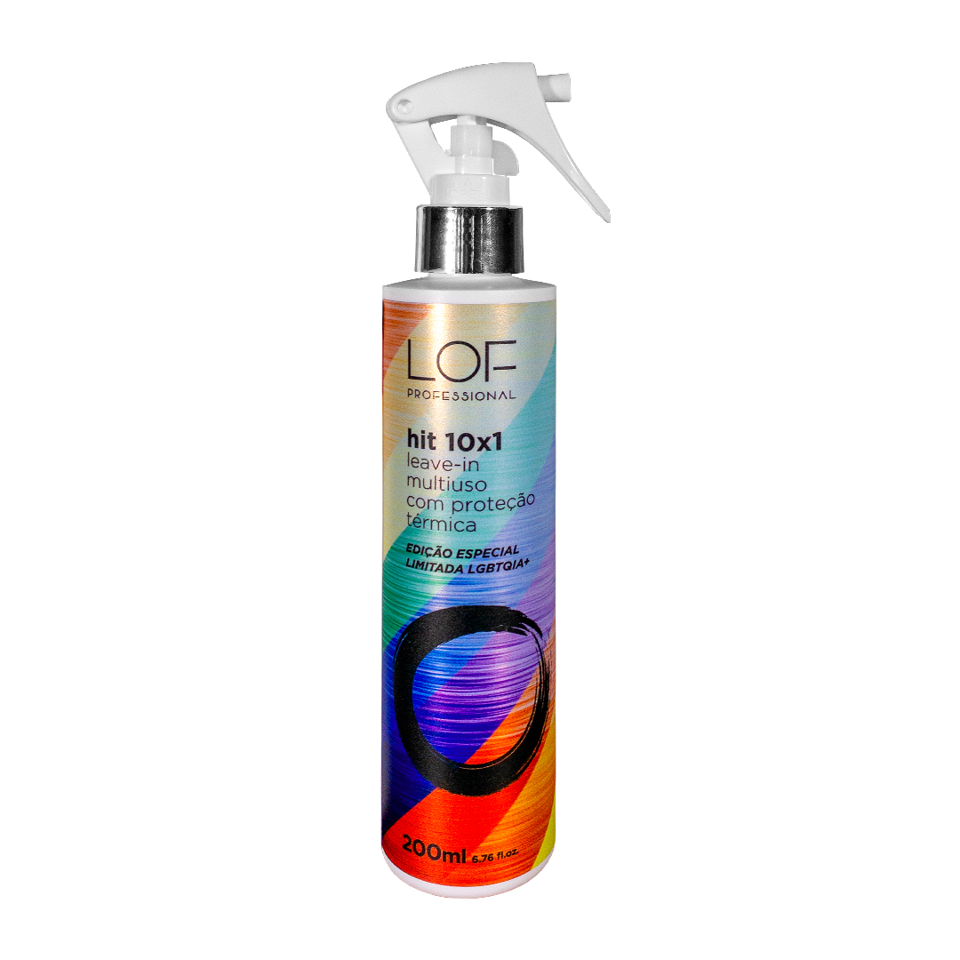 Leave-in Multi Uso Proteção Térmica HIT 10X1 200mL - Edição Especial LGBTQIA+
