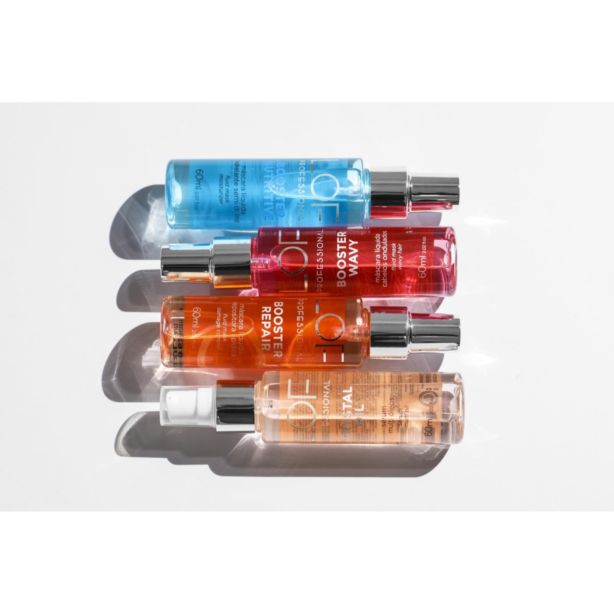 Kit Hidratação e Nutrição dos Cabelos - Booster Nutritive 60mL + Leave-in Multi Uso Proteção Térmica Hit 10x1 200mL