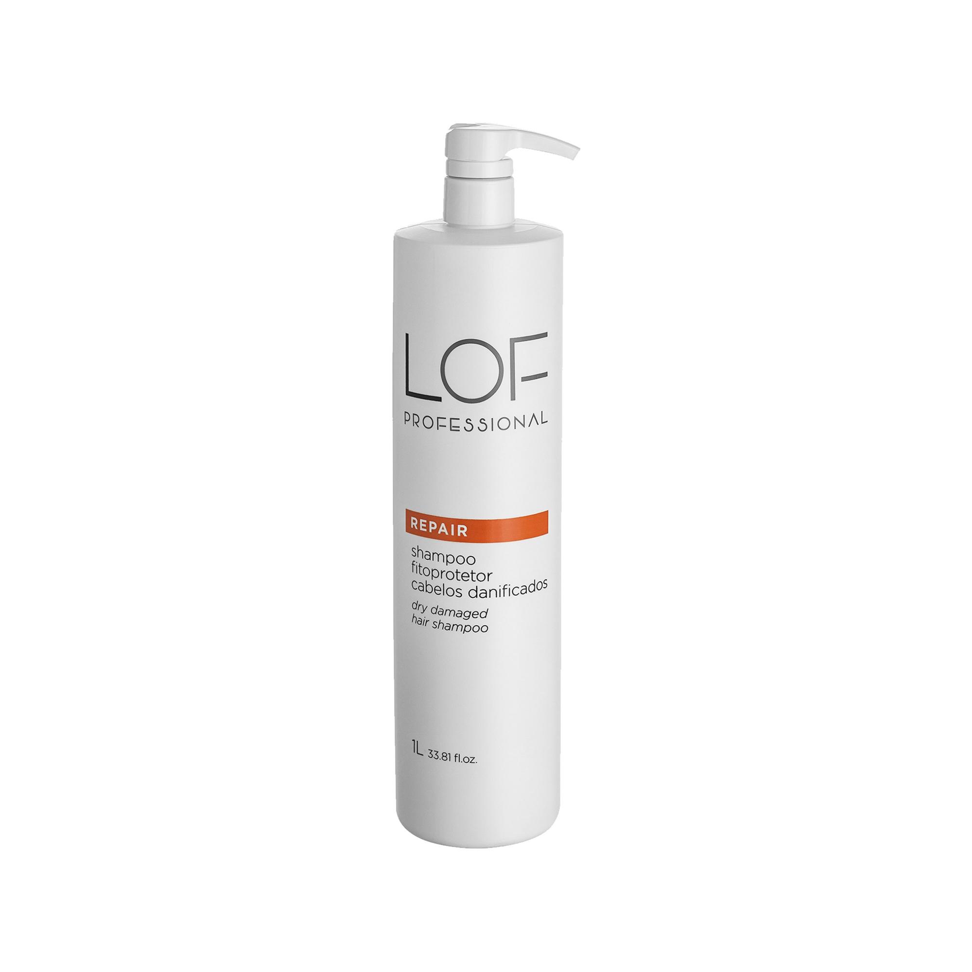 Shampoo Reconstrutor para Cabelos Danificados Repair 1L