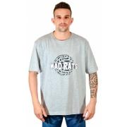 Camiseta Espiral Cinza