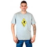 Camiseta Logo Clássico Cinza