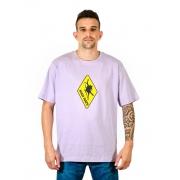 Camiseta Logo Clássico Lilás