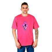 Camiseta Logo Pink Rosa