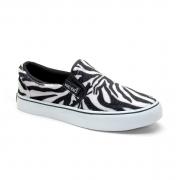 Slip On Zebra