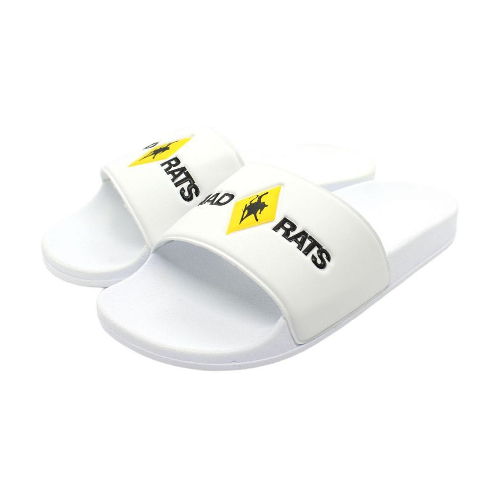 Chinelo Slider Logo Branco
