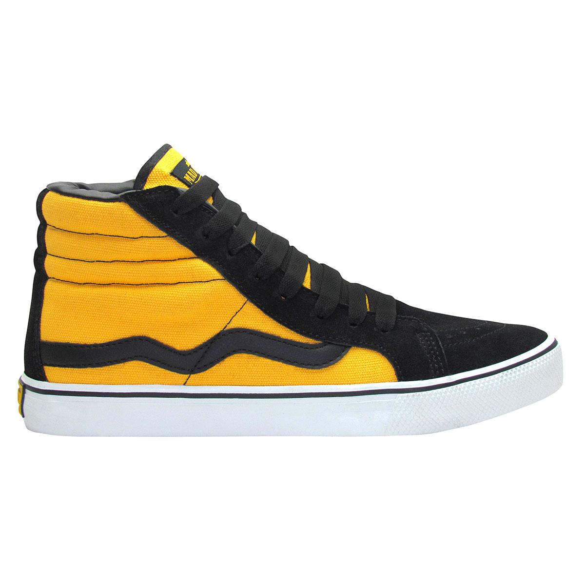 Hi Top Preto/ Amarelo