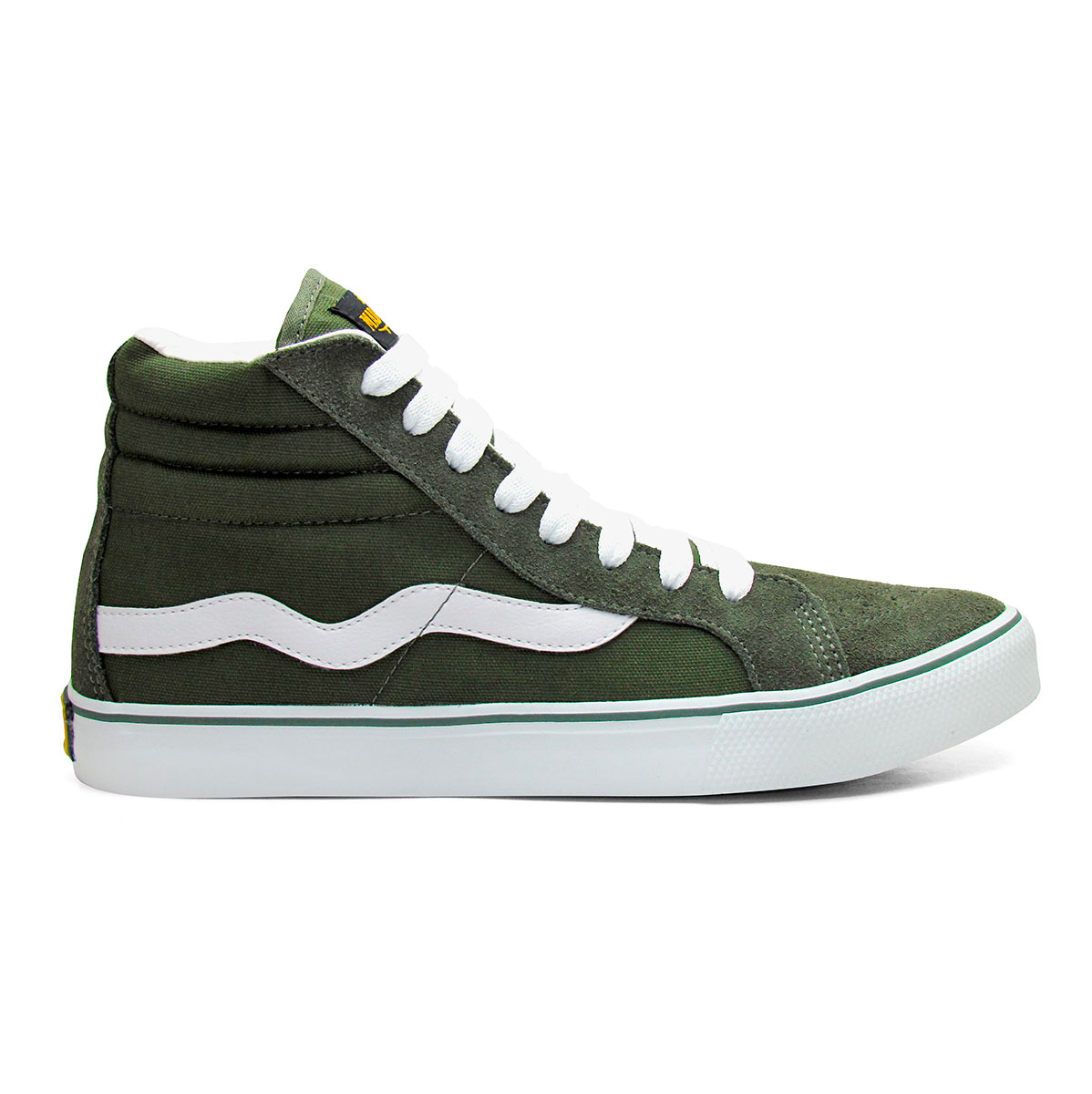 Hi Top Verde Militar