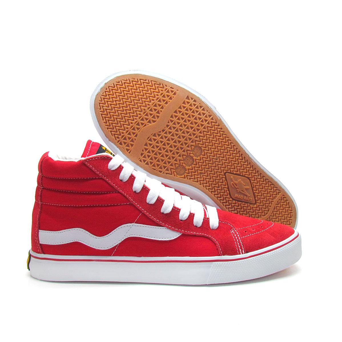Hi Top Vermelho