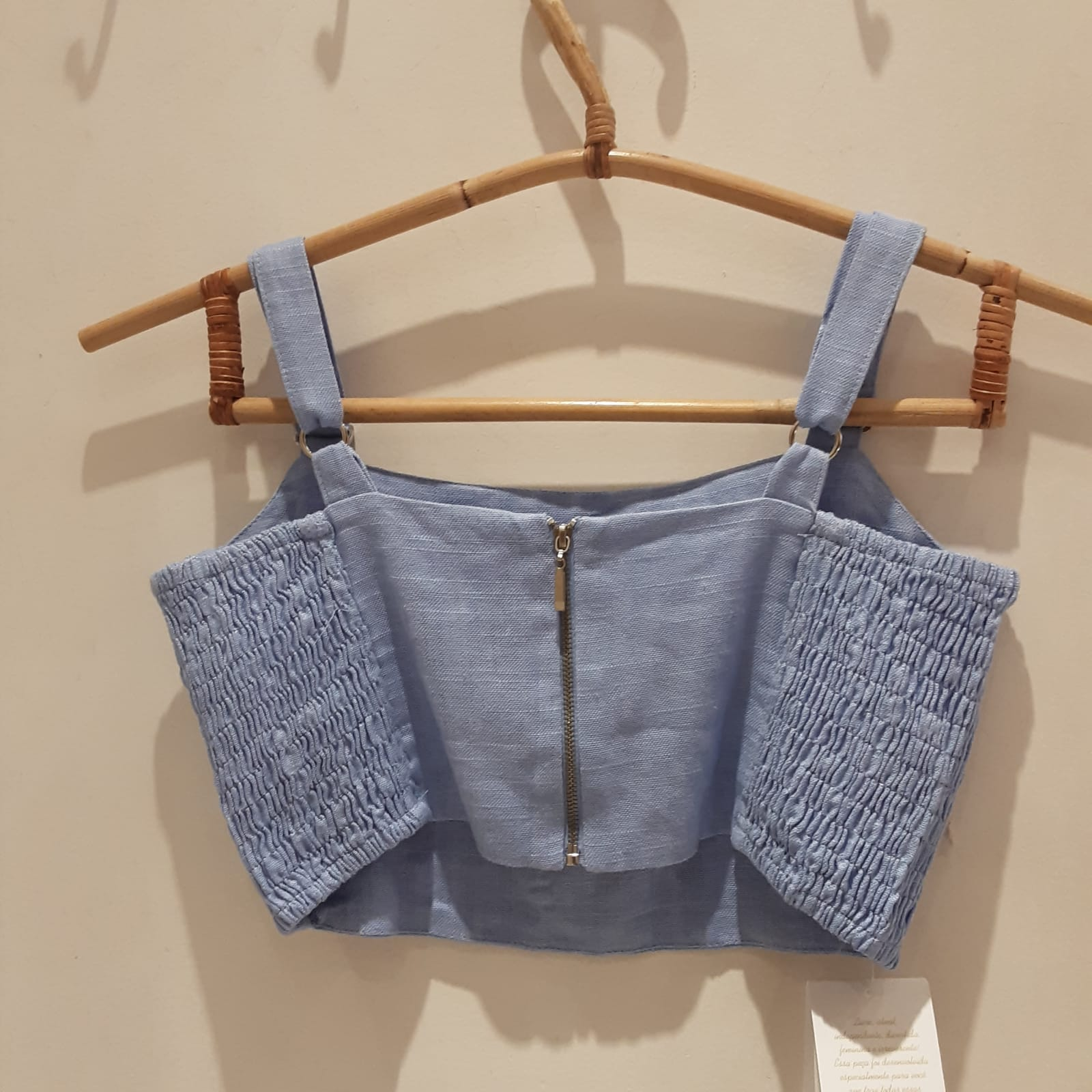 Blusa Cropped Gaby