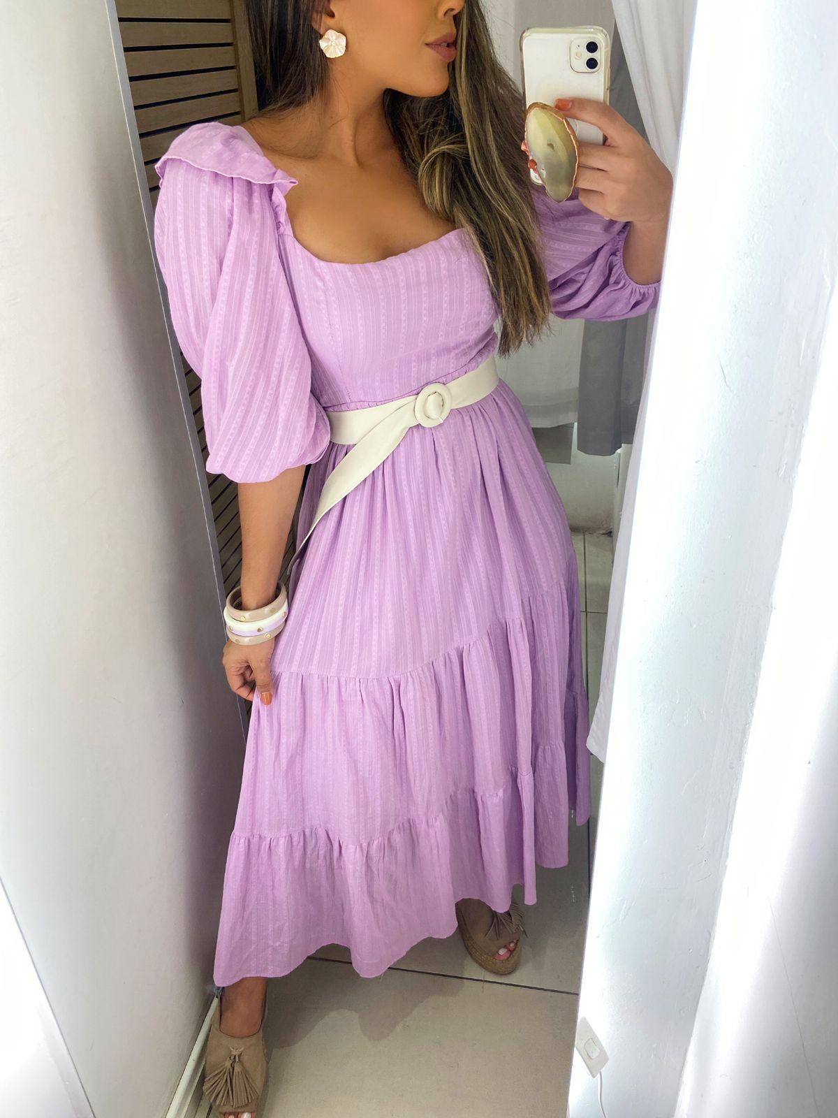 Vestido Dec Quadr Mg Princesa