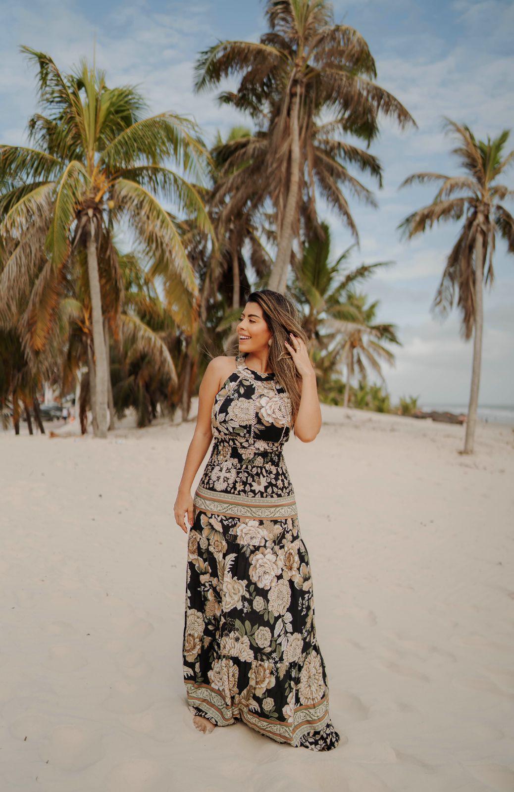 Vestido Javanesa Floral