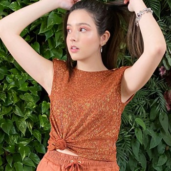 BLUSA MUSCLE TEE TRICOT GLAM