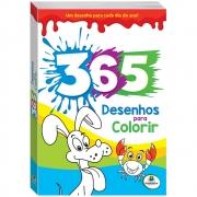 365 Desenhos Para Colorir (Azul)
