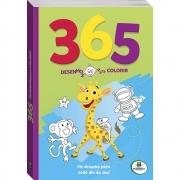 365 Desenhos para Colorir (Verde)