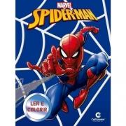 Homem-Aranha - Ler e Colorir