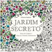 Jardim Secreto - Livro de Colorir e Caça ao Tesouro Antiestresse   Sextante