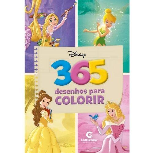 365 Desenhos para colorir - Disney