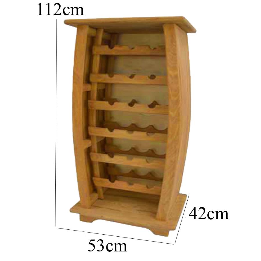 Adega 18 Garrafas Rústico - SKU8821