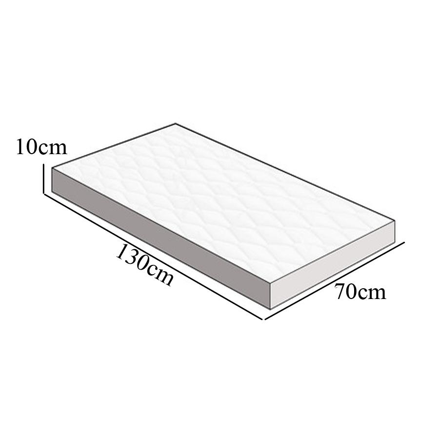 Colchão para Berço Ortobom D18-70x130x10cm SKU7010