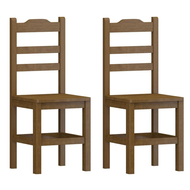 Kit 2 Cadeiras de Madeira Abs Imbuia - SKU909611