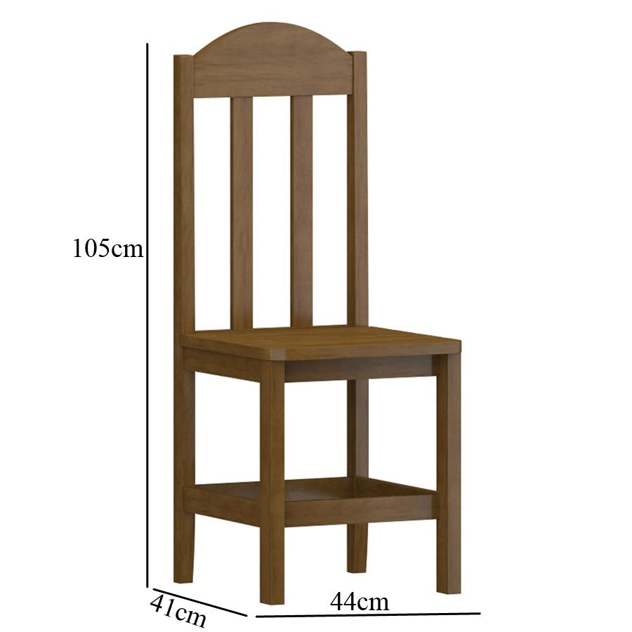 kit 2 Cadeiras Safira Imbuia SKU800511