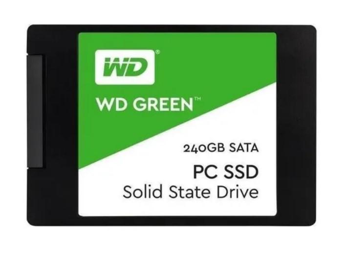 Disco Sól. Interno Western Digital Green Wds240g2g0a 240gb