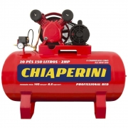 Compressor Chiaperini 10 RED 150 litros 2 CV monofásico