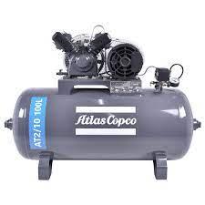 COMPRESSOR AR AT2/10 100 L 110/220V ATLAS COPCO