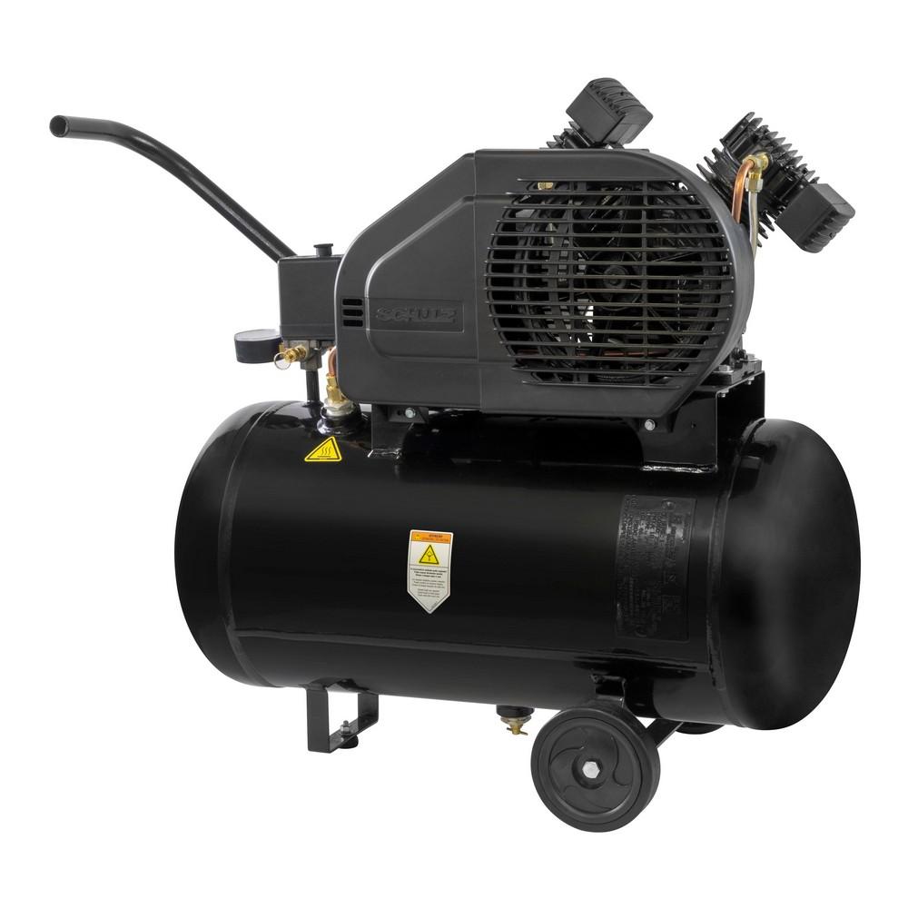 Compressor de Ar Portátil 10 Pés 50L 2HP 140PSI Monofásico - SCHULZ-CSV10PRO/50