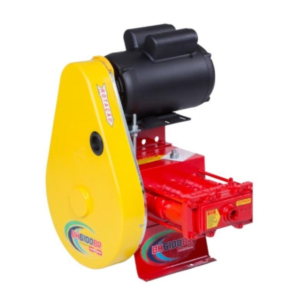 Lavadora de média pressão Hidromar BH 6100 sem mangueira, fixa, com motor 2cv mono