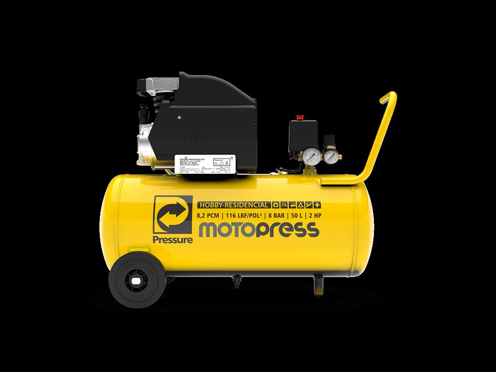 MOTOCOMPRESSOR PRESSURE 8 PCM 50 LITROS 120 LIBRAS 220V
