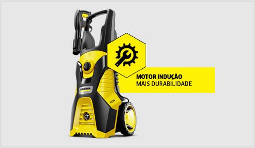 Novo Modelo Lavadora de Alta Pressão K 3.98 - Motor a Indução - 127v