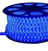 Fita LED AZUL 127v 5050 6mm  Kit C/ 5 Metros