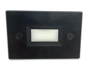 LED BALIZADOR EMBUTIR PARDE 4x2 3W - Preto