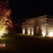 Luminaria Jardim Embutir no solo Par38 LS210PT