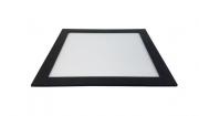Luminaria Led Embutir quadrada 18w 6000K Preta