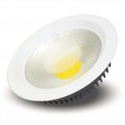 Luminária LED Embutir Redonda COB 30w