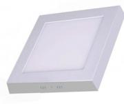 Luminária LED Sobrepor Quadrada 18w