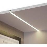 PERFIL LED EMBUTIR 65MM - 40W POR METRO - *PRONTO PARA INSTALAR