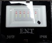 Refletor LED RGB  30w C/ Controle Remoto