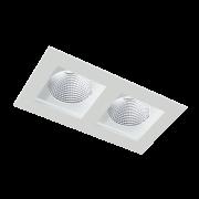 Spot embutir Retangular BL1027/2 BMT