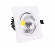 Spot led Embutir Cob Quadrado 5w - Super preço!